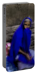 The Blue Shawl Portable Battery Charger by Lynn Palmer