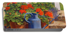 The Blue Watering Can Portable Battery Charger