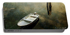 The Boat In Winter Portable Battery Charger