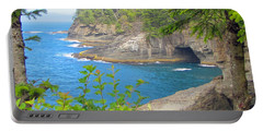 Portable Battery Charger featuring the photograph The Caves Of Cape Flattery  by Tikvah's Hope