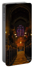 Portable Battery Charger featuring the photograph The Chapel At Valley Forge Park by Cindy Manero