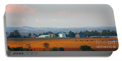 Portable Battery Charger featuring the photograph The Countryside by Davandra Cribbie