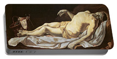 The Dead Christ Portable Battery Charger