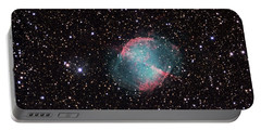 The Dumbbell Nebula Portable Battery Charger