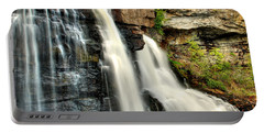 Portable Battery Charger featuring the photograph The Face Of The Falls by Mark Dodd
