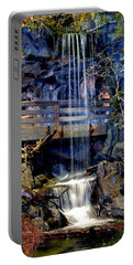 Portable Battery Charger featuring the photograph The Falls by Deena Stoddard