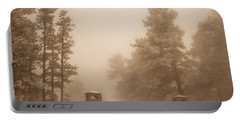 Portable Battery Charger featuring the photograph The Fog by Shannon Harrington