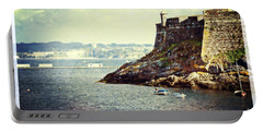 The Fort On The Harbor - La Coruna Portable Battery Charger