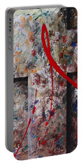 Portable Battery Charger featuring the painting The Greatest Love by Kume Bryant
