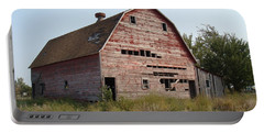 Portable Battery Charger featuring the photograph The Hole Barn by Bonfire Photography