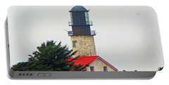 Portable Battery Charger featuring the photograph The Lighthouse Of Tatoosh by Tikvah's Hope