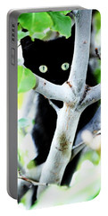 Portable Battery Charger featuring the photograph The Little Huntress by Jessica Shelton