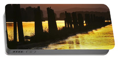 Portable Battery Charger featuring the photograph The Lost River Of Gold by Albert Seger