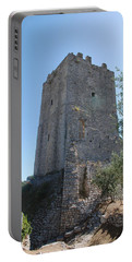 The Medieval Tower Portable Battery Charger by Dany Lison