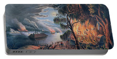 The Mississippi In Time Of War Portable Battery Charger