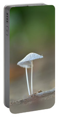 Portable Battery Charger featuring the photograph The Mushrooms by JD Grimes