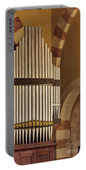 the Organ Augusta Victoria Jerusalem Portable Battery Charger