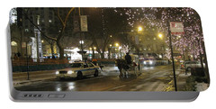 Portable Battery Charger featuring the photograph The Past Meets The Present In Chicago Il by Ausra Huntington nee Paulauskaite