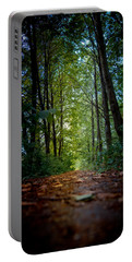 The Pathway In The Forest Portable Battery Charger