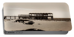 Portable Battery Charger featuring the photograph The Pier by Shannon Harrington
