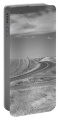 Portable Battery Charger featuring the photograph The Quiet Road by Kathleen Grace