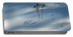 Portable Battery Charger featuring the photograph The Shadow Of Loneliness by Ausra Huntington nee Paulauskaite