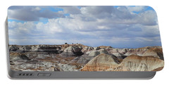 The Sky Clears By Blue Mesa Portable Battery Charger by Lynda Lehmann