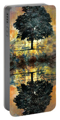 The Small Dreams Of Trees Portable Battery Charger