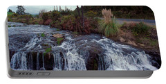 The Waterfall In The Stream Portable Battery Charger