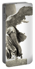 The Winged Victory - Paris Louvre Portable Battery Charger