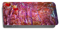 Portable Battery Charger featuring the photograph Thicket In Color by George Pedro