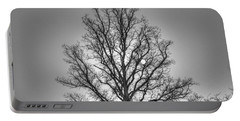 Through The Boughs Bw Portable Battery Charger by Dan Stone