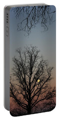 Through The Boughs Portrait Portable Battery Charger by Dan Stone