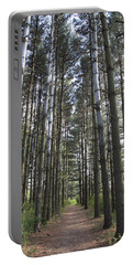 Portable Battery Charger featuring the photograph Through The Woods by Jeannette Hunt