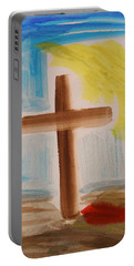 Tim Tebow's Cross-easter Monday Portable Battery Charger