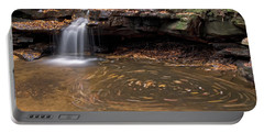 Portable Battery Charger featuring the photograph Tolliver Falls by Jeannette Hunt