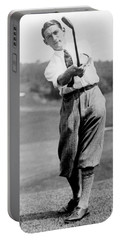 Portable Battery Charger featuring the photograph Tom Armour Wins Us Golf Title - C 1927 by International  Images