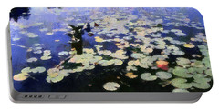 Torch River Water Lilies 3.0 Portable Battery Charger