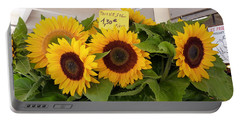 Portable Battery Charger featuring the photograph Tournesol by Carla Parris