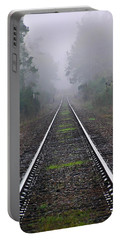 Tracks In Fog Portable Battery Charger