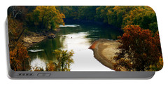 Portable Battery Charger featuring the photograph Tranquil View by Peggy Franz
