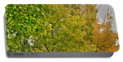 Portable Battery Charger featuring the photograph Transition Of Autumn Color by Michael Frank Jr