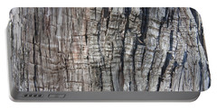Tree Bark No. 1 Stress Lines Portable Battery Charger by Lynn Palmer