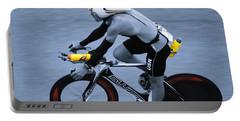 Triathlon Man Portable Battery Charger