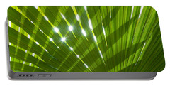 Tropical Palm Leaf Portable Battery Charger