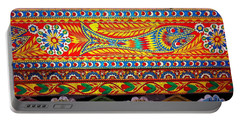Truck Art Detail Portable Battery Charger