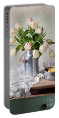 Tulips And Pears Portable Battery Charger