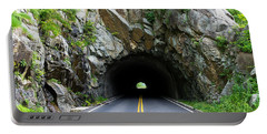 Tunnel On A Lonely Road Portable Battery Charger