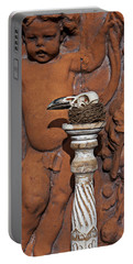 Turkey Vulture Skull Portable Battery Charger