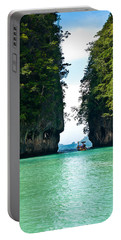 Turquoise Lagoon In Thailand Portable Battery Charger
